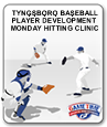 TYNGSBORO BASEBALL PLAYER DEVELOPMENT PROGRAM MONDAY HITTING CLINIC WITH KEN CONNERTY