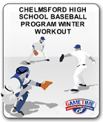 CHELMSFORD HIGH SCHOOL BASEBALL PROGRAM WINTER WORKOUT