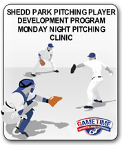 SHEDD-PARK-PITCHING-PLAYER-DEVELOPMENT-PROGRAM-MONDAY NIGHT-PITCHING-CLINIC