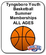 Tyngsboro Youth Basketball Summer Memberships-ALL AGES
