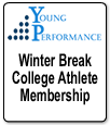 Young Performance-Winter Break College Athlete Membership